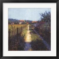 Framed Walk Into Spring Sanary