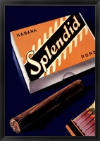 Framed Splendid Habana