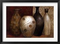 Framed Timeless Vessels
