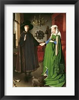 Framed Portrait of Giovanni Arnolfini and his Wife Giovanna Cenami