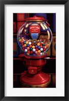 Framed Gumball Machine IV