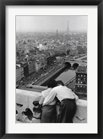 Framed Bresson - View from the Towers of Notre Dame