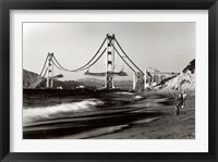 Framed Golden Gate Fishermen, S.F.