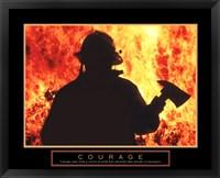 Framed One Fireman