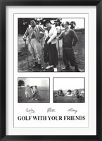 Framed Golf with Your Friends