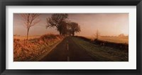 Framed Road at Sunrise