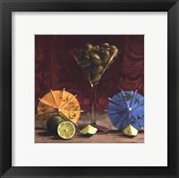 Framed Olive Martini
