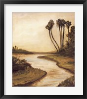 Everglade River II Framed Print