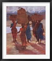 Framed Leaving Godspur Market