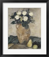 Framed Rose Still Life