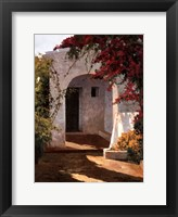 Porch Daylight Framed Print