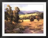Framed Malibu Canyon