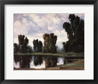 The Pond at Rest Framed Print