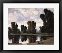 Framed Pond at Rest