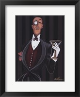 Ladies Man Framed Print