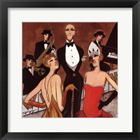 Framed Dames du la Soiree