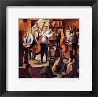 Framed Cita con el Jazz