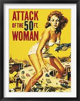 Framed Attack of the 50 ft. Woman