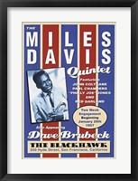 Framed Miles Davis, 1957