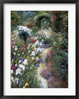 Radiant Path Framed Print