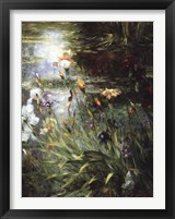 Framed Water Garden Symphony I I