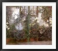 Framed Jardin dans la Ville