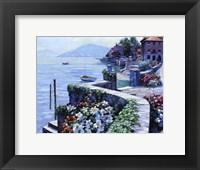 Framed Il Lago Como