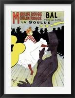 Framed Moulin Rouge