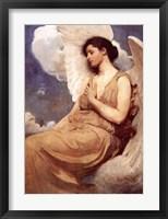 Framed Winged Figure