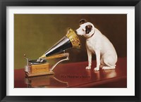 Framed His Master's Voice