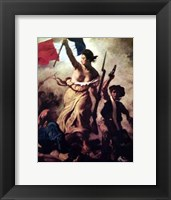 Framed Liberty Leading People