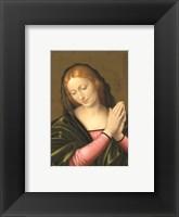 Framed Madonna (Postcard)