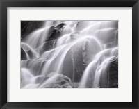 Waterfall, Yosemite Framed Print
