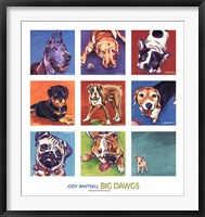 Framed Big Dawgs
