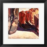 Boots I Framed Print