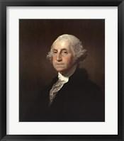 Framed George Washington