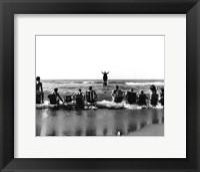 Framed Edouard Krasinski in the 'Panoramic Seav