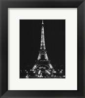 Framed Paris By Night