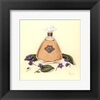 Framed Parma Violets
