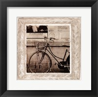 Framed Bicycle In Florence