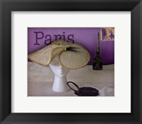 Paris Hat Framed Print