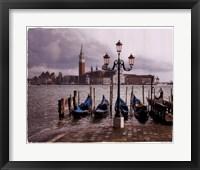 Quattro Gondoli Framed Print