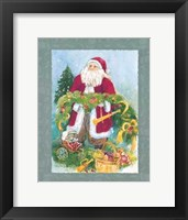 Framed Kris Kringle