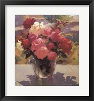 Framed Still Life with Roses