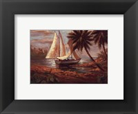 Setting Sail I Framed Print
