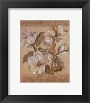 Framed Magnolia l