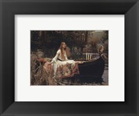 Framed Lady Of Shalott