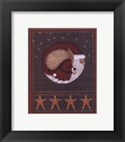 Framed Santa And The Sack Of Toys