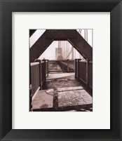 George Washington Bridge Framed Print