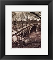Central Park Bridges III Framed Print